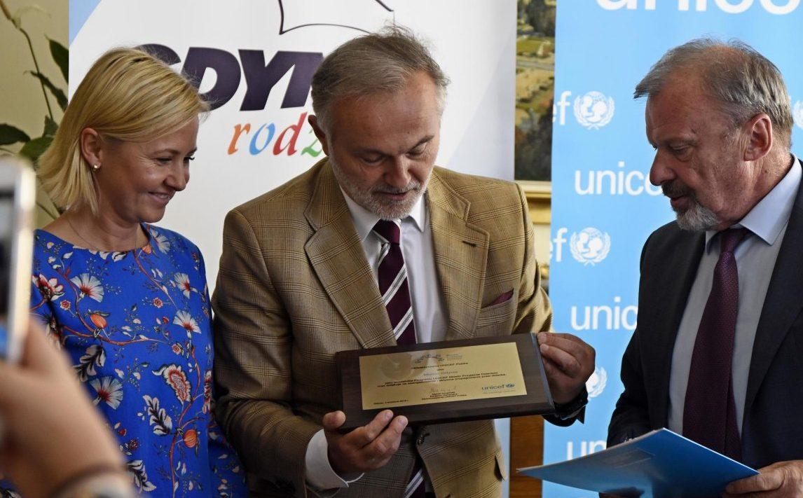 Gdynia pierwsza w programie UNICEF