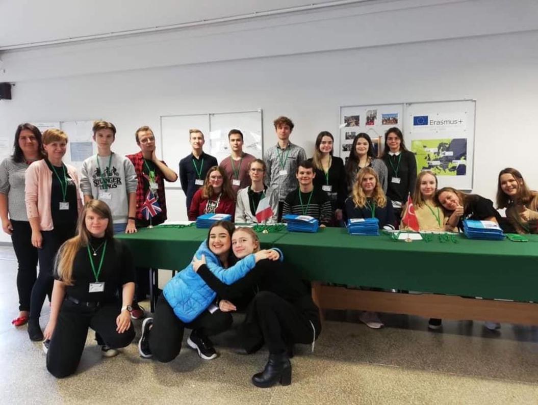 """Projekt """"My Career Steps Aspirations For All"""" programu ERASMUS+ w IX LO w Gdyni"""