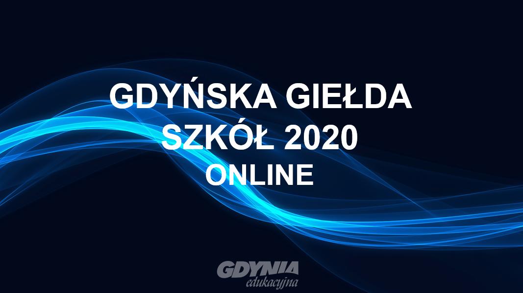 Gdyńska Giełda Szkół 2020 online